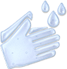 Wash your hands thoroughly with soap and water after touching or applying VALCHLOR